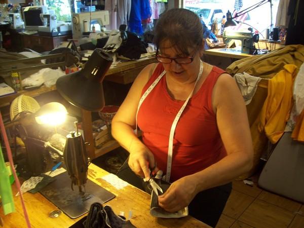Lynne at Work
